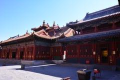 Lama TempleA monk Stock Photos