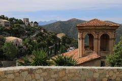 Lama, wioska w północy Corsica obraz royalty free