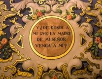 LaMacarena kyrka, Seville, andalusia, Spanien Arkivbild