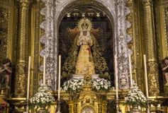LaMacarena kyrka, Seville, andalusia, Spanien Royaltyfri Fotografi