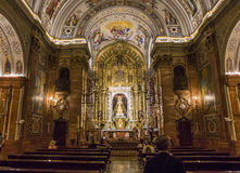LaMacarena kyrka, Seville, andalusia, Spanien Arkivfoton