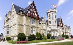 LaMagdalena slott Arkivbild