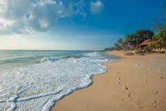 Lamai海滩,酸值Samui,泰国 库存图片