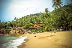 Lamai beach on Koh Samui Royalty Free Stock Photography