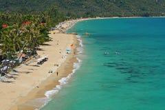 Lamai beach on samui island Royalty Free Stock Photo