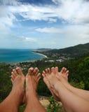 Lamai beach Stock Photo