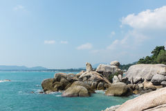 Lamai beach, Samui Royalty Free Stock Images