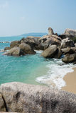 Lamai beach, Samui Stock Photo