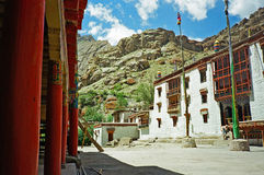 Lamaist monastery in ladakh Stock Images