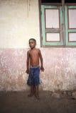 从Lamalera的印度尼西亚男孩 免版税图库摄影