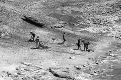 Lamalera en la isla indonesia de Lembata Fotografía de archivo