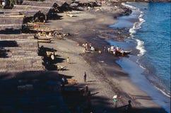 Lamalera wioska rybacka na wyspie Lembata, Indonezja zdjęcie stock