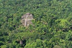 Lamanai, majowie ruiny Zdjęcia Royalty Free