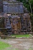 Lamanai Mask Temple Royalty Free Stock Images
