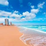 LaManga del Mar Menor strand i Murcia Spanien Royaltyfri Bild