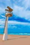 LaManga del Mar Menor strand i Murcia Spanien Royaltyfri Foto
