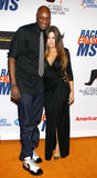 Lamar Odom and Khloe Kardashian Royalty Free Stock Photos