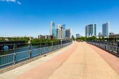 Lamar Pedestrian Bridge fotografia de stock
