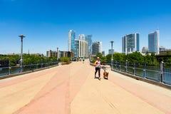 Lamar Pedestrian Bridge fotos de stock