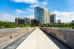 Lamar Pedestrian Bridge imagem de stock royalty free