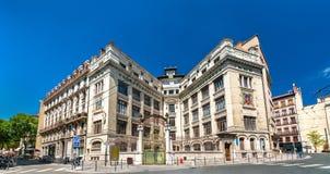 LaMartiniere högskola i Lyon, Frankrike royaltyfria foton