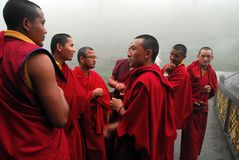 Lamas bouddhistes Image libre de droits