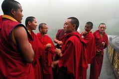 Lamas budistas Imagen de archivo libre de regalías