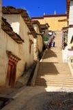 Lamasery de Songzanlin Sumtse Ling Fotografia de Stock Royalty Free