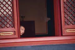 Lamasery de Yonghegong Photo stock