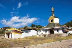 Lamasery pagoda Stock Photo