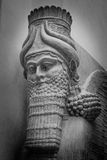 Lamassu The winged bull. He statue oldest civilization known to humanity Stock Photo