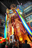 Lamatempelet i Beijing Kina Royaltyfri Bild
