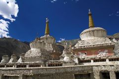 Lamayuru buddhist monastery in Ladakh Stock Images