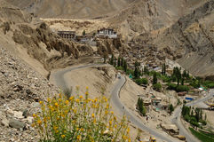 Lamayuru buddhist monastery in Ladakh ,  India. Stock Photos