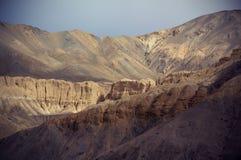 Lamayuru et terre de lune Photo libre de droits