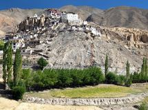Lamayuru gompa - buddhist monastery in Indus valley - Ladakh Royalty Free Stock Photo