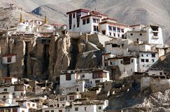 Lamayuru gompa - buddhist monastery in Indus valley - Ladakh Royalty Free Stock Image