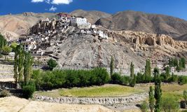Lamayuru gompa - buddhist monastery in Indus valley - Ladakh - India Stock Photography