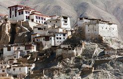 Lamayuru gompa - buddhist monastery in Indus valley Stock Image