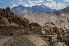 Lamayuru Kloster lizenzfreies stockbild