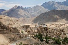 Lamayuru Kloster stockbild
