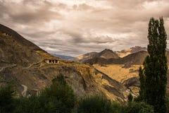 Lamayuru landt Leh Ladakh, Jammu en Kashmir, India op de maan Royalty-vrije Stock Foto