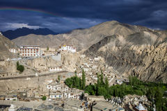 Lamayuru monastery Royalty Free Stock Photo