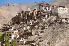 Lamayuru Monastery, Ladakh, Jammu and Kashmir, India. View of Lamayuru Monastery, Ladakh, Jammu and Kashmir, India Royalty Free Stock Photo