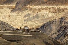Lamayuru monastery, Ladakh, Jammu and Kashmir, India Stock Photo
