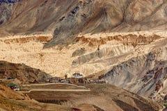 Lamayuru monastery, Ladakh, Jammu and Kashmir, India Stock Image