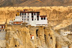 Lamayuru monastery, Ladakh, Jammu and Kashmir, India Stock Photography