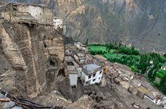 Lamayuru Monastey, Ladakh, Indien stockbilder