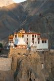 Lamayuru o Yuru Gompa, distretto di Kargil, Ladakh occidentale, India Immagine Stock Libera da Diritti
