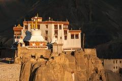 Lamayuru o Yuru Gompa, distretto di Kargil, Ladakh occidentale, India Immagine Stock
